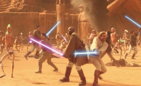 Revenge of the Sith Battle Scene Photo