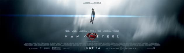 Man of Steel Superman Banner