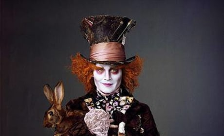 More Alice in Wonderland Promotional Photos