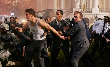 White House Down Review: Jamie Foxx & Channing Tatum Fight for Fun
