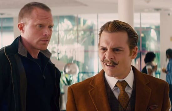 Mortdecai Johnny Depp Paul Bettany