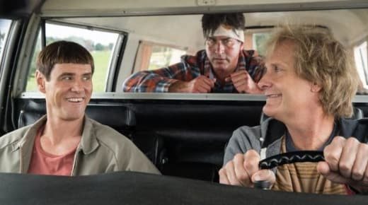 Dumb and Dumber To Jim Carrey Rob Riggle Jeff Daniels