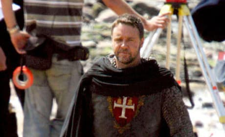 Spotted: Russell Crowe as Robin Hood
