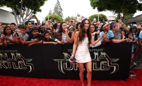 Teenage Mutant Ninja Turtles Premiere Megan Fox
