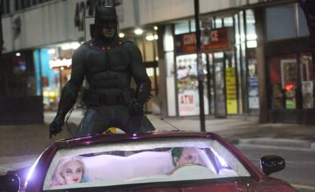 Suicide Squad Batman Set Photo