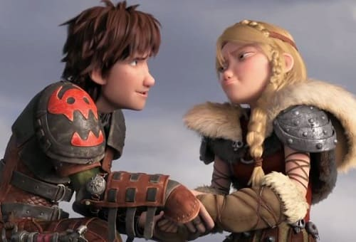 How To Train Your Dragon 2 Clip Are Hiccup Astrid An Item Movie Fanatic