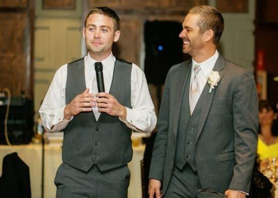 Paul and Cody Walker