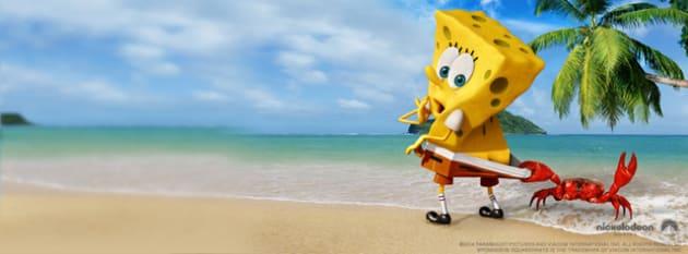 The SpongeBob Banner
