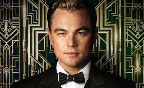 Leonardo DiCaprio Great Gatsby Poster