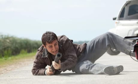 Joseph Gordon-Levitt as Joseph Simmons in Looper