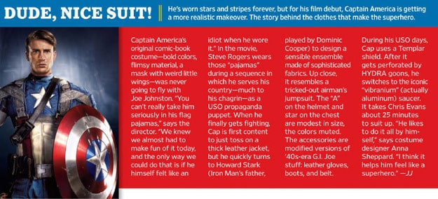 EW's Captain America Suit Review