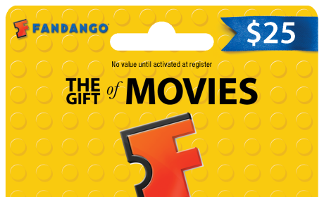Fandango The LEGO Movie Gift Card