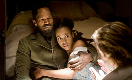 Django Unchained Jamie Foxx Kerry Washington