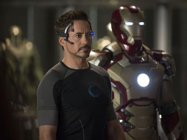Robert Downey Jr. Iron Man 3