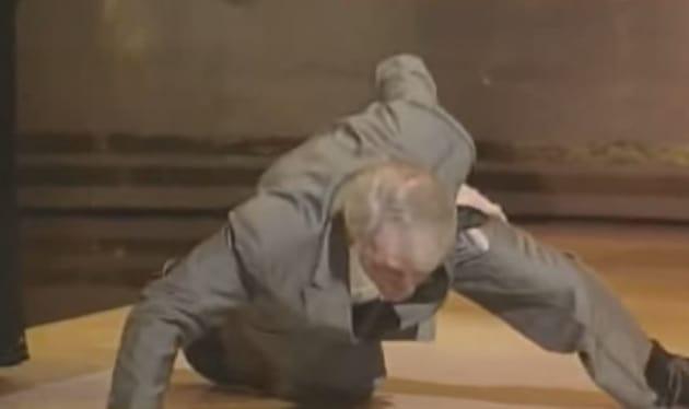 Jack Palance Does Push-Ups