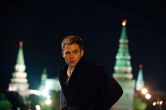 Chris Pine Stars in Jack Ryan Shadow Recruit