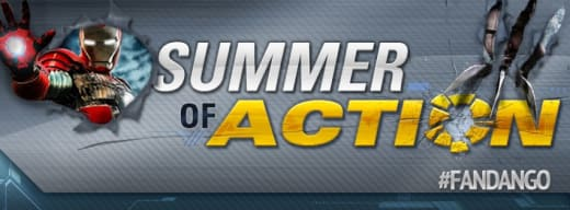 Fandango Summer of Action Logo