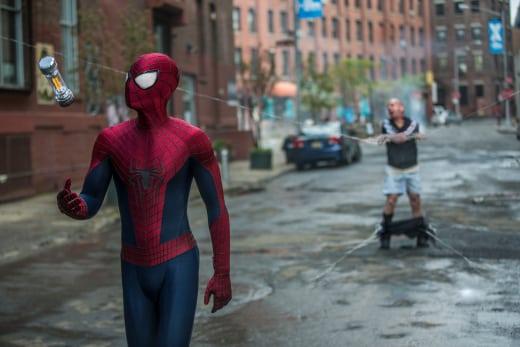 Spider-Man in The Amazing Spider-Man 2