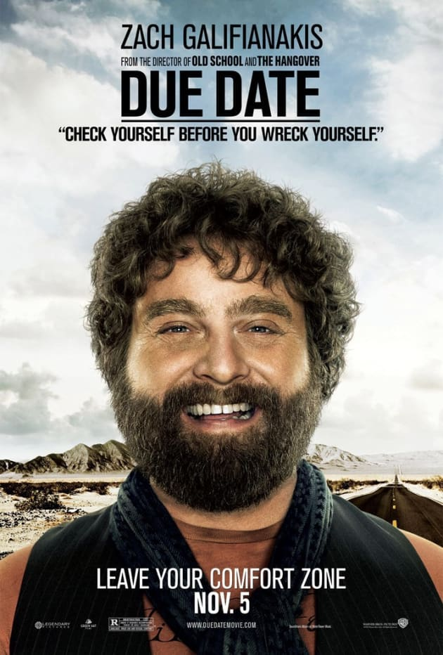 Due Date Ethan Poster