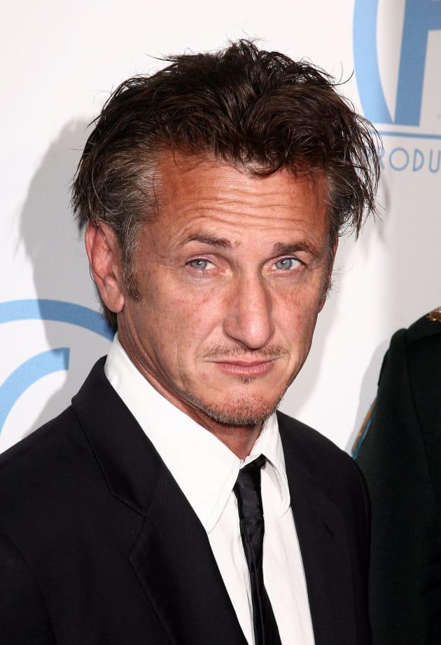 Sean Penn Circles The Last Photograph