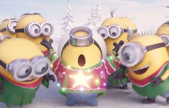 Minions Holiday Photo