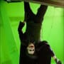 The Dark Knight Heath Ledger Set Photo