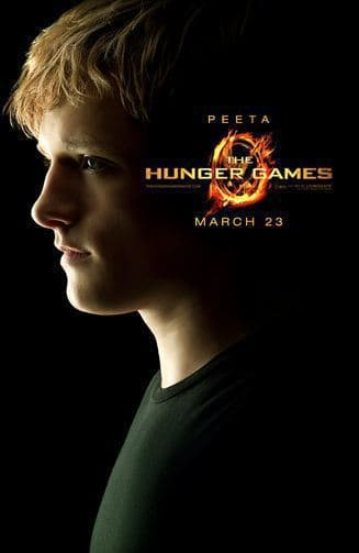 The Hunger Games: Peeta Character Poster