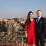 Spectre Monica Bellucci Daniel Craig Rome Photo Call
