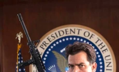 Machete Kills Photos: The President Is Armed!