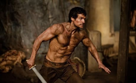 Henry Cavill Stars in The Immortals