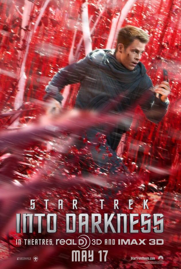 Star Trek Into Darkness Chris Pine Poster