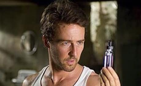 Photos of Edward Norton from The Incredible Hulk