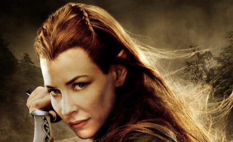 The Hobbit: The Desolation of Smaug Tauriel Poster