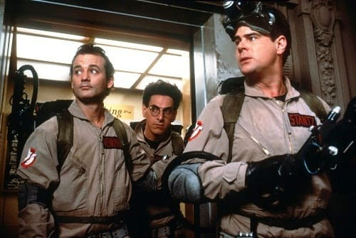 The Ghostbusters Cast
