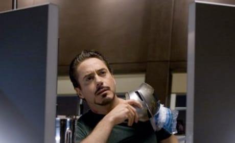 Robert Downey Jr. Sets Goals for Iron Man 2