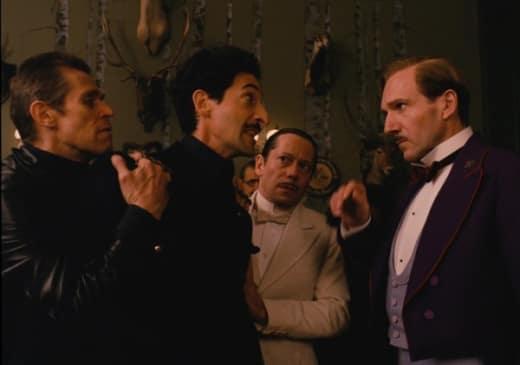 The Grand Budapest Hotel Ralph FIennes Adrien Brody