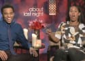 About Last Night Exclusive: Michael Ealy & Joy Bryant Talk Best Couples' Costumes