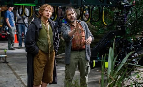 Peter Jackson Martin Freeman The Hobbit: An Unexpected Journey