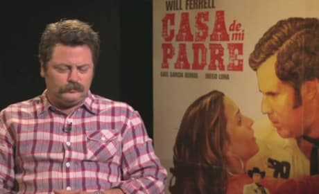 Casa de mi Padre Exclusive: Nick Offerman Offers His Two Cents