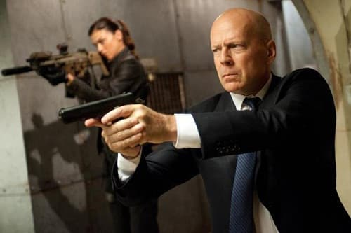 Bruce Willis and Adrianne Palicki in GI Joe Retaliation