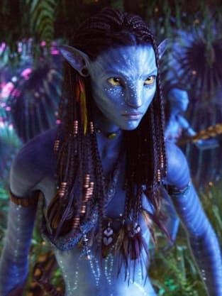 Zoe Saldana as Neytiri