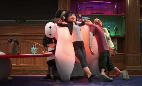Big Hero 6 Baymax Hiro Go Go Photo
