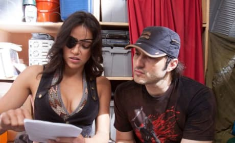 Machete Kills Robert Rodriguez Michelle Rodriguez