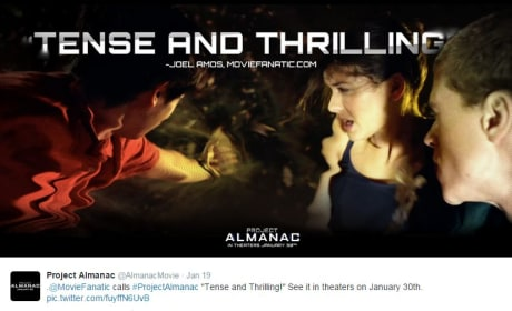 Project Almanac Movie Fanatic Ad