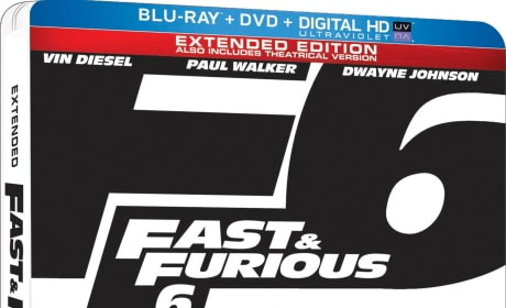 Fast and Furious 7 First Scene on Fast and Furious 6 Blu-Ray