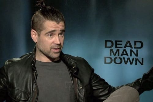 Colin Farrell Interview Photo