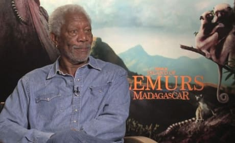 Morgan Freeman Interview Picture