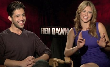 Josh Peck and Adrianne Palicki Picture