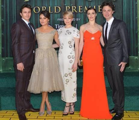 The Oz: Great and Powerful Cast