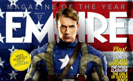Empire Magazine Sci-Fi Issue Features Captain America